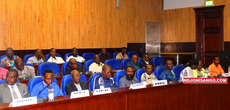 Vue des principaux leaders des groupes armés centrafricains lors des pourparlers de paix à Khartoum@photo Erick Ngaba