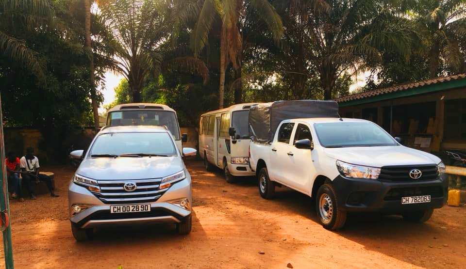 don de véhicules de la FIFA à la FECAFOOT