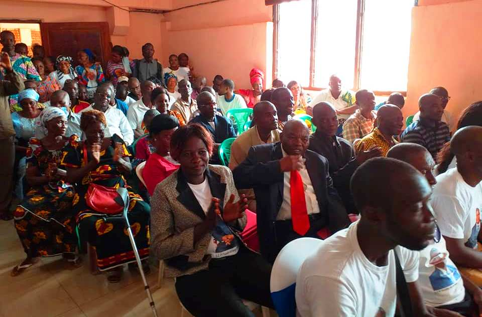 les militants du MCU à la validation des bureaux sous-fédéraux de Bangui