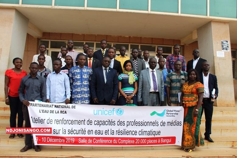 ouverture de la formation des journalistes centrafricains sur la gestion et l'usage de l'eau@photo Marly Pala