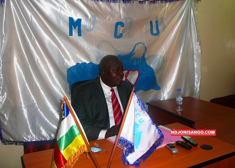 regrette Patrick Nambéaré, Secrétaire national chargé de communication du Mouvement Coeurs Unis (MCU)@photo Erick Ngaba
