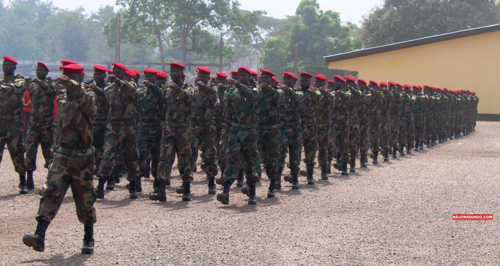10è promotion des FACA à Berengo@photo Erick Ngaba