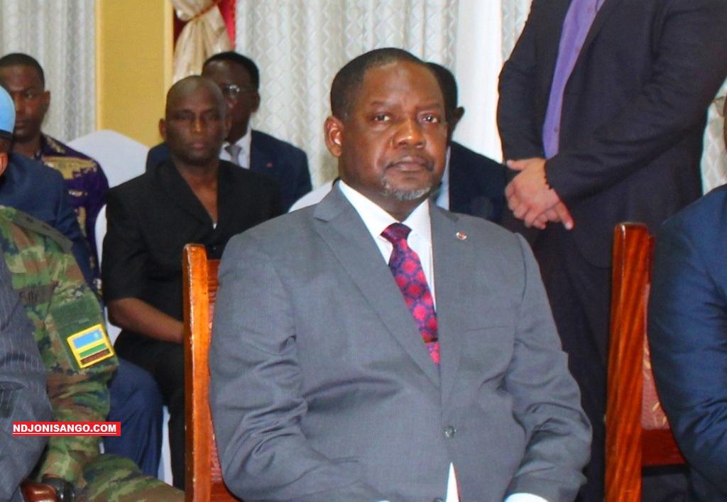 Firmin Ngrebada premier ministre centrafricain@photo Erick Ngaba