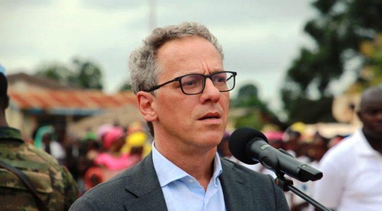 Han-Fraeters-representant-des-operations de la-Banque-mondiale-en-Afrique-Centrale-Centrafrique-ndjoni-sango
