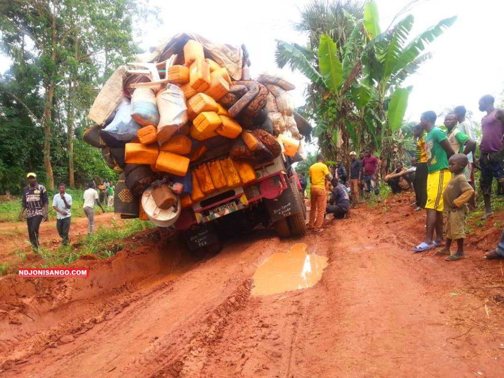 Etat de route réliant Alindao-Mobaye dans la Basse-kotto en RCA@photo Fiacre Salabé