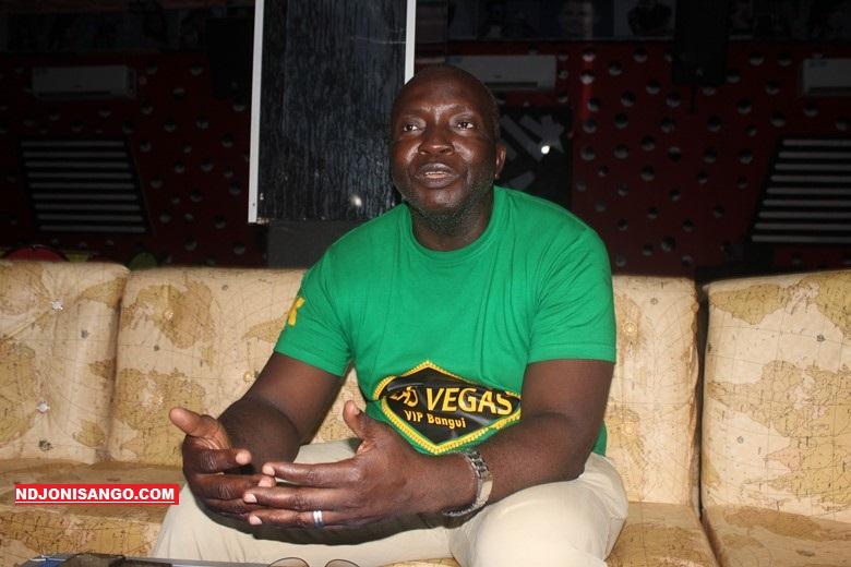 Alain Foka, Gérant de Las Vegas VIP Bangui @photo Marly Plala