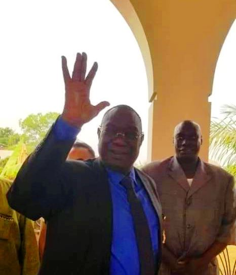 Michel Djotodia ancien chef de l'Etat de transition