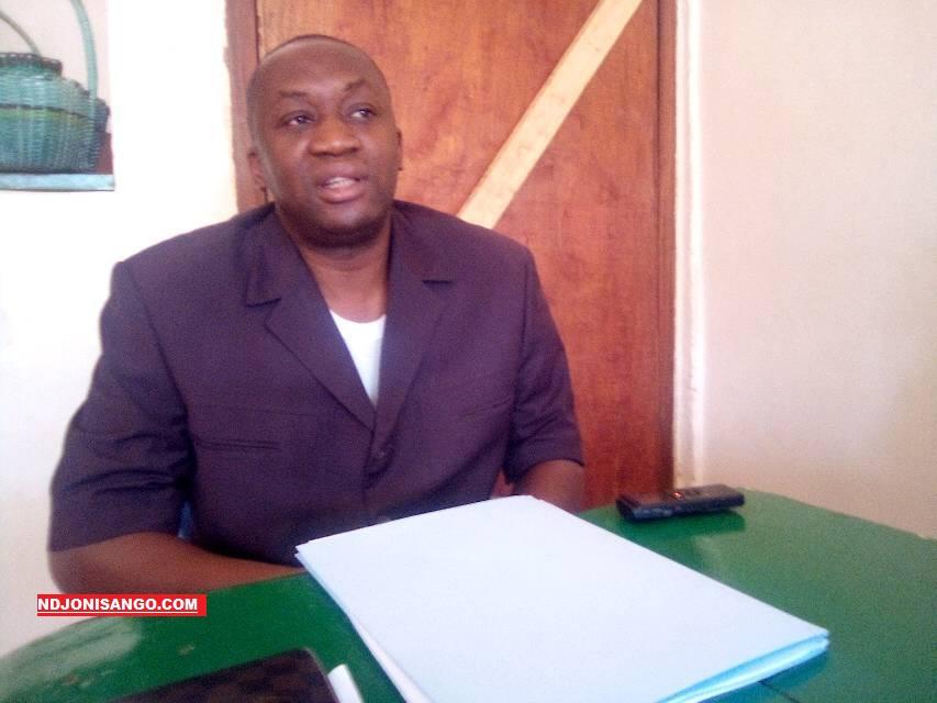 Serge Ghislain Djorie, Président du parti CAPNCA@photo Cyrille Yapendé