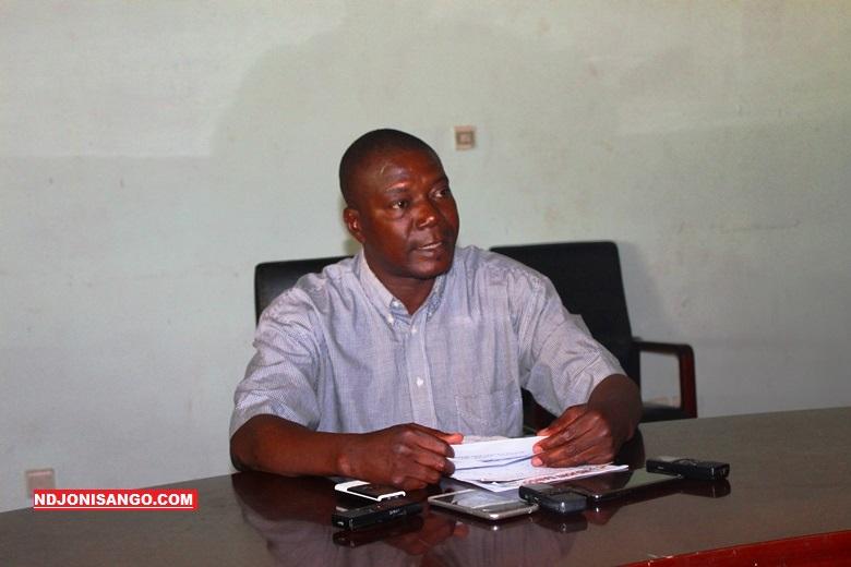 Sébastien Wénézoui, président de la Cohésion centrafricaine pour la Reconstruction@photo Erick Ngaba