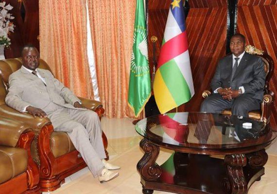 RCA: ce que Alexandre Nguendet et le président Touadera se sont dit au palais