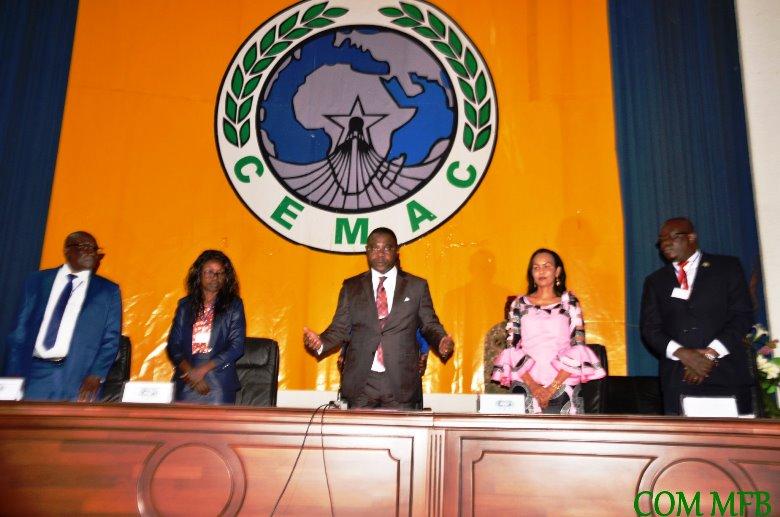 session d'examen et de l'adoption du budget 2020 du Conseil des bureaux de la carte rose CEMAC à Bangui@photo Com MFB