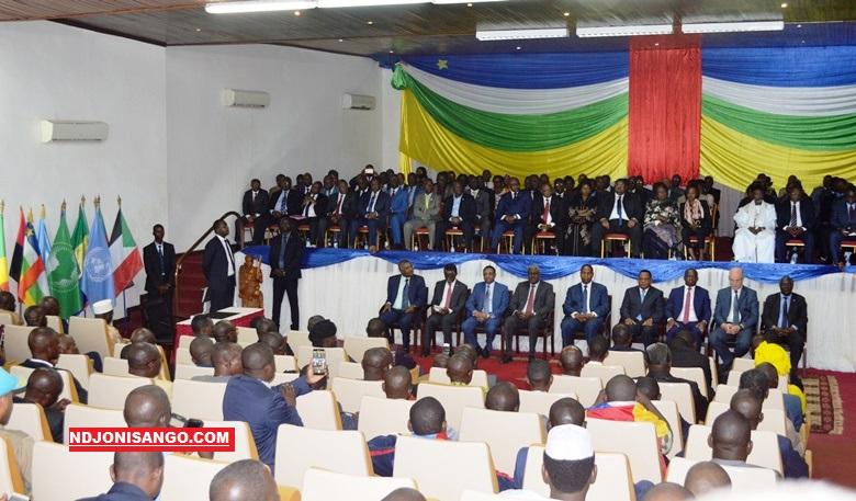 signature de l'accord de paix entre le gouvernement et les groupes armés le février 2019 à Bangui@photo Erick Ngaba