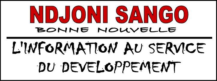 Entête du quotidien centrafricain d'information générale Ndjoni Sango