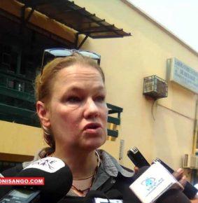 RCA: Maja Gudehus alerte sur la  protection  des Pangolins