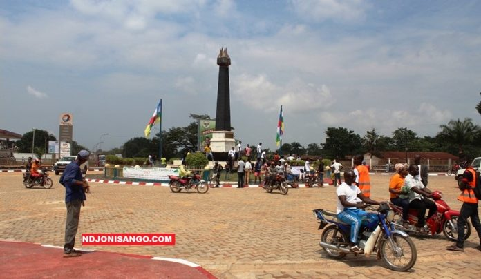 Centrafrique-rond-point-martyrs