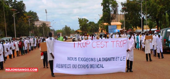 Centrafrique-médecins-Ndjoni-Sango