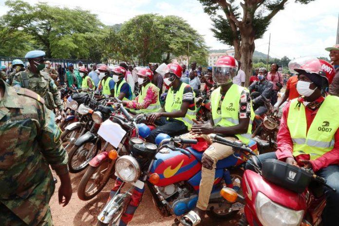 Centrafrique-taxi-motos-ndjoni-sango