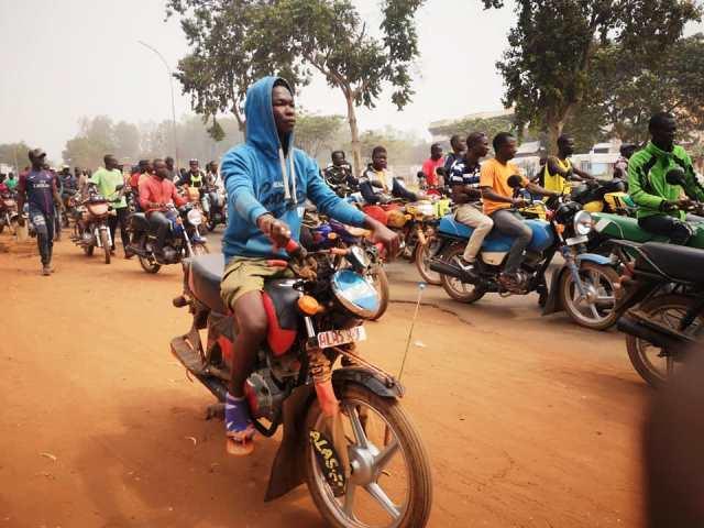 taxi-motos-ndjoni-sango-centrafrique